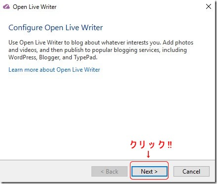 open live writer install